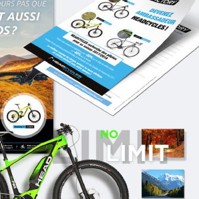 Annonce presse Headcycles par Axelles